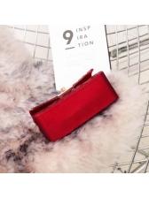 Candy Color Solid Woven Mini Square Shoulder Bag