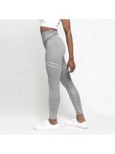 Euro Printed High Waist Slim Yoga Pants