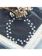 Hot Sale Faux Pearl Decor Chain Necklace