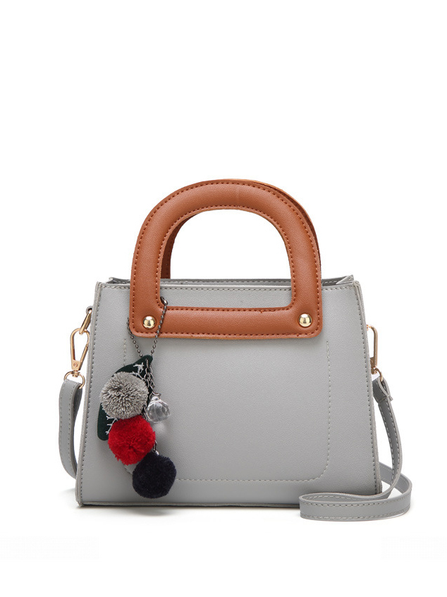 Ladies Contrast Color Hand Bag