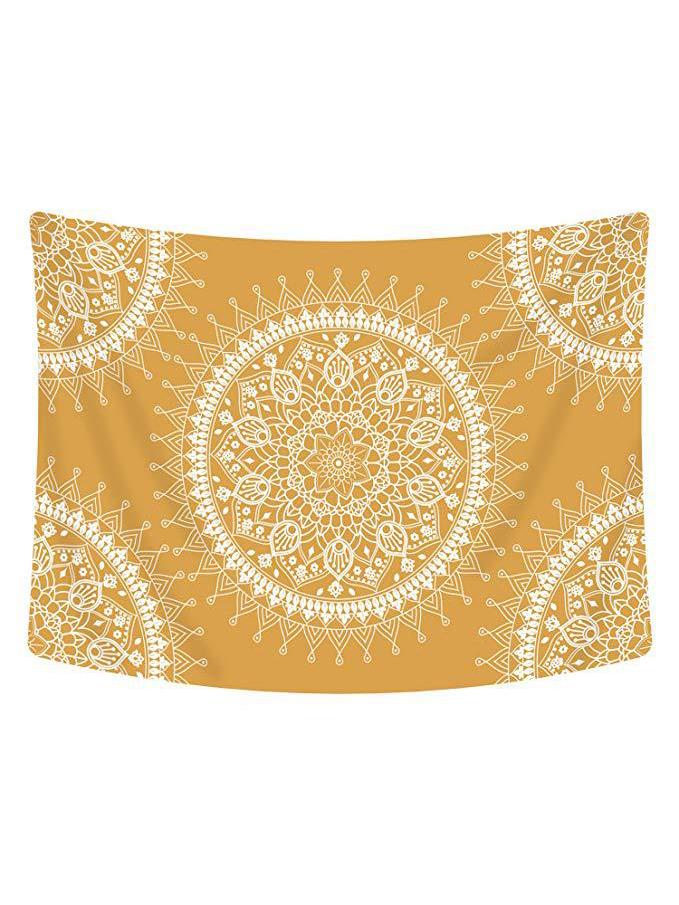 Hot Sale Printing Yellow Beach Blanket