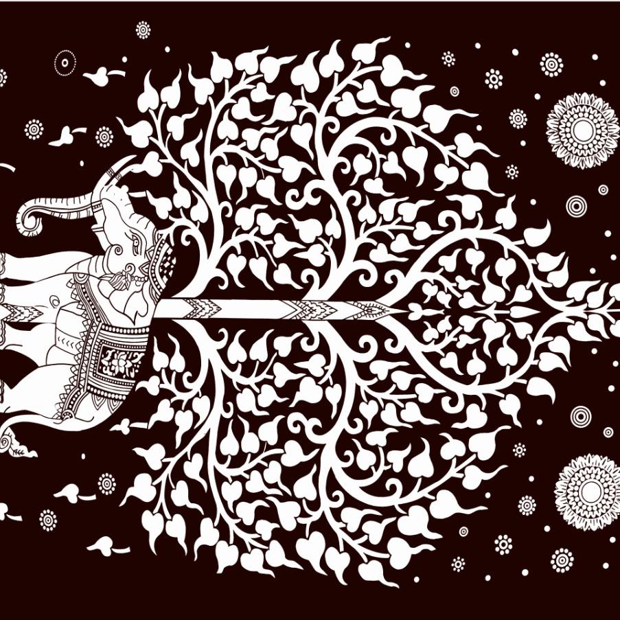 Starry Sky Animal Print Beach Blanket