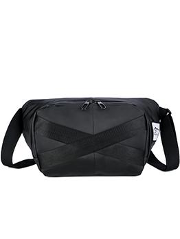Solid Color Unisex Crossbody Bag