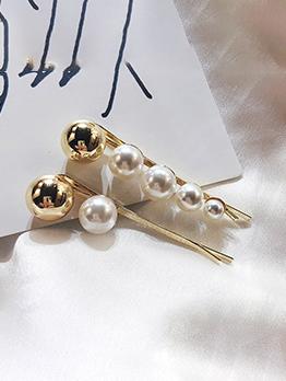 Korean Pearls Design Hair Pin For Women