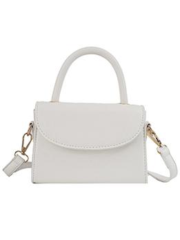 Simple Solid Color Ladies Shoulder Bag