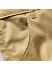 Simple Design Solid Half-Length Pants For Men