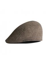 Vintage Herringbone Mens Flat Caps