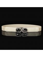 Easy Matching Diamond Elastic Women Belt