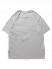 Round Collar Pocket Casual Men T-Shirt