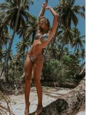 Sexy Gradual Color Micro Bikini For Women