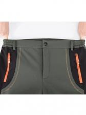 Contrast Color Waterproof Long Pants For Climbing