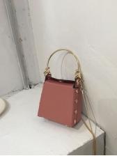 Hot Sale Rivets Decor Crossbody Bag For Women