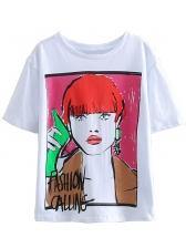 Summer Short Sleeve T Shirt Printing