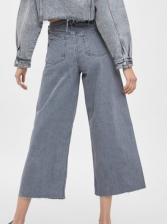 Fashion High Waist Wide Leg Jeans For Women