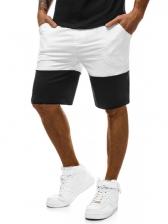 Stylish Contrasting Colors Pockets Sports Shorts