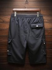 Summer Hot Sale Pockets Drawstring Short Pants