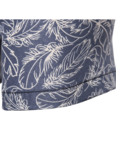 Stylish Floral Fitted Short Sleeve Shirt For Men