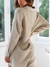 Hot Sale V Neck Grey Long Sleeve Rompers