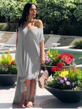 Hot Sale Summer Solid Maxi Dress