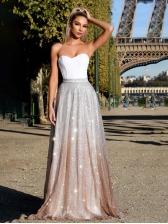Hot Sale Sexy Long Strapless Dress