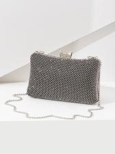 Hot Sale Rhinestone  Mini Clutch Bag For Evening
