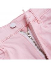 Summer Tassel High Waisted Hot Pants