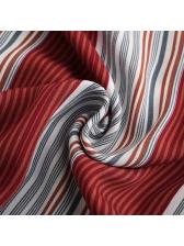 Sexy Backless Striped Halter Dress