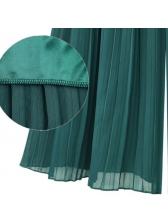 Plus Size High Waist Pleated Wide Leg Pants