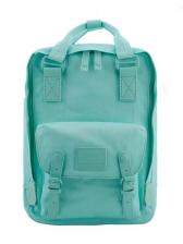 Preppy Style Solid Waterproof Large Capacity Backpack