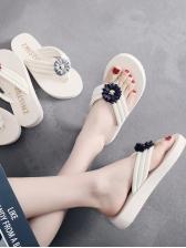 Cozy Stereo Flower Women Flip Flop