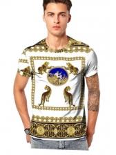 Hot Sale Animal Print T-shirt For Men