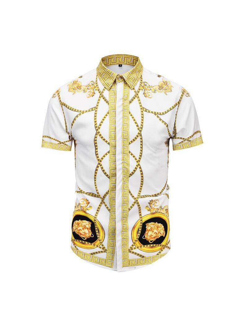 National Style Printed Short Sleeve Shirt