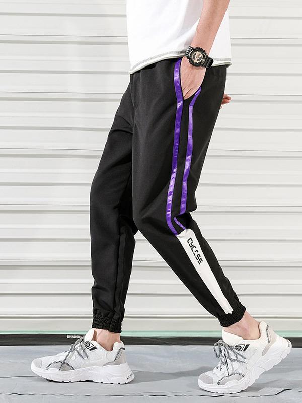 Sport Line Drawstring Long Pant For Men