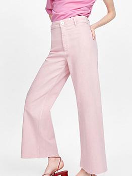 Ol Style Wide Leg Trouser For Women