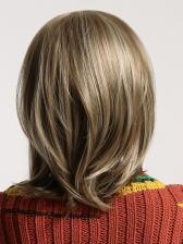 Elegant Side Bang Blonde Short Synthetic Wig For Ladies