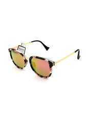 Trendy Printed Polarized Light Sunglasses