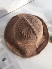 Cute Cable Knit Bucket Hat