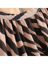 Sexy Backless Leopard Beach Halter Maxi Dress