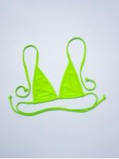 Sexy Solid Micro Bikini Sets With Gauze Cover Ups