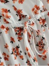 Sweet Print Pulling Ropes Sundress