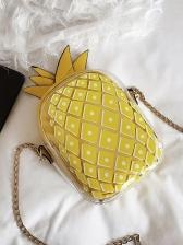 Creative Pineapple Shape Transparent Bag