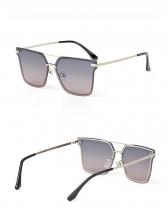 Hot Sale Colored Lens Large-Frame Polarized Sunglasses