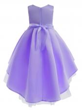 Summer Sleeveless Pleated Girl Flower Dress