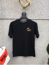 Stylish Bronzing Letter Print Unisex T-shirt