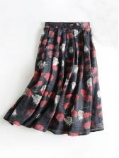 High Waisted Floral Summer Skirts