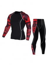 Long Sleeve Tight Sport Wear Sets For Men