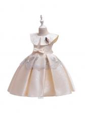 Doll Collar Butterflies Big Swing Girls Dresses