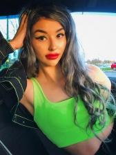 Sexy Low-Cut One Shoulder Crop Cami