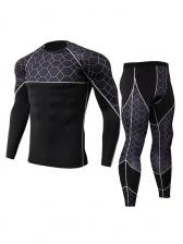 Long Sleeve Fast Dry Men Sport Wear Sets