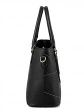 Geometric Printed Large Capacity Handbag For Women